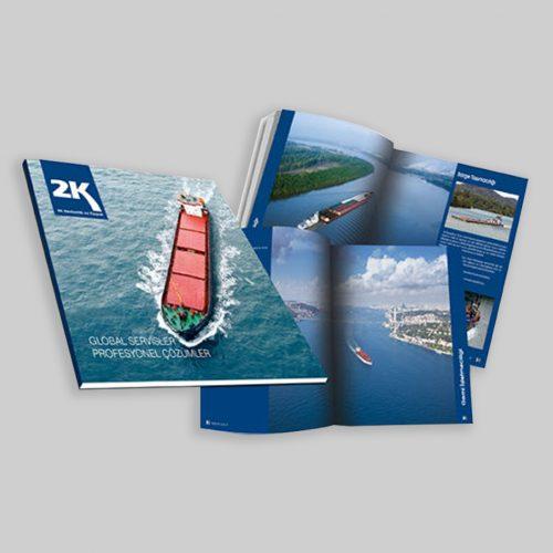 2K Denizcilik Kosgeb Destekli Katalog Basımı