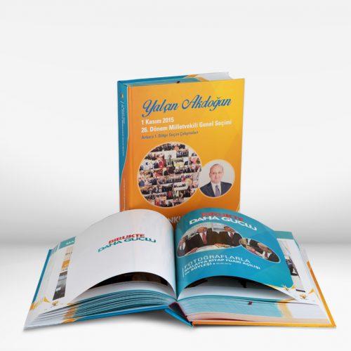 Ak Parti Yalcin Akdogan Secim Albumu Kitab Basımı