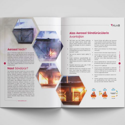 Alas Fire Technologies Katalog Basımı
