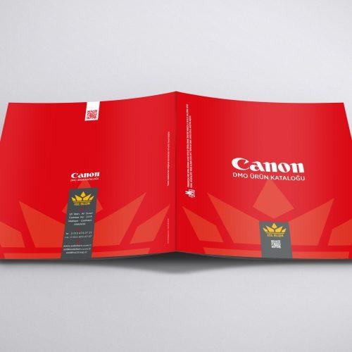 Asil Bilişim Canon DMO Ürün Kataloğu Basımı