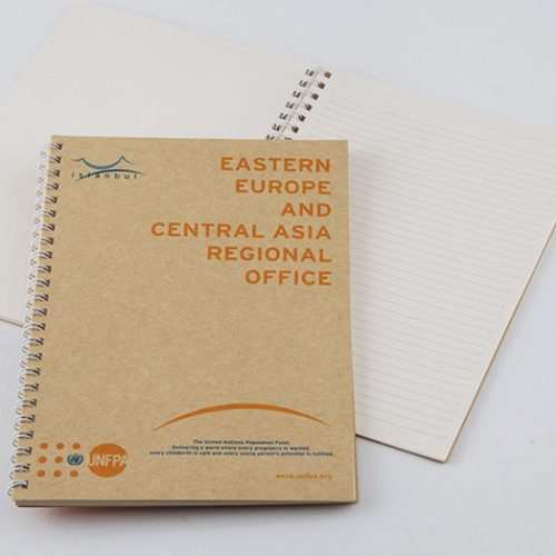 Avrupa Birliği UNFPA Bloknot Tasarımı