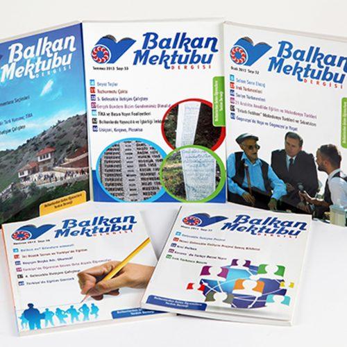 Balkan Mektubu Dergi Basımı