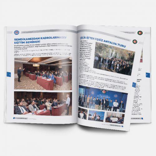 Celik is Sendikasi Dergi Basımı