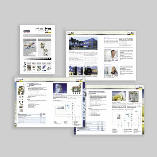 Delta Enerji Sistemleri Kosgeb Destekli Katalog Basımı