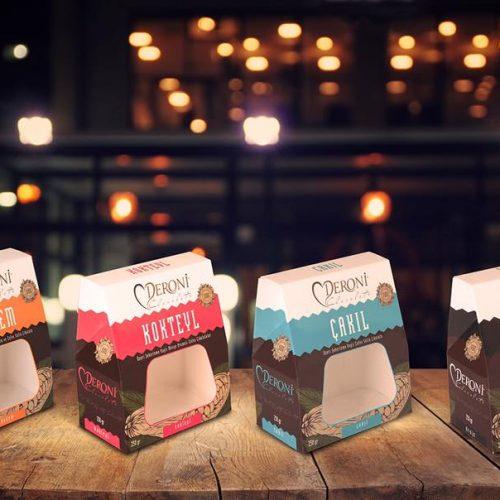 Deroni Çikolata Draje Kutusu Ambalaj Basımı