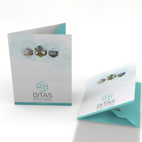 Ditas Prefabrik Cepli Dosya Basımı