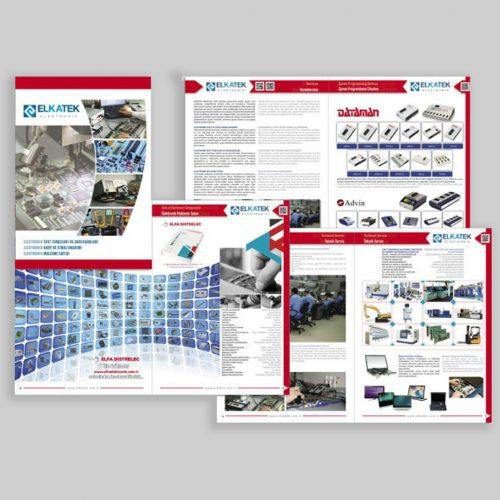 Elkatek Elektronik Kosgeb Destekli Katalog Basımı