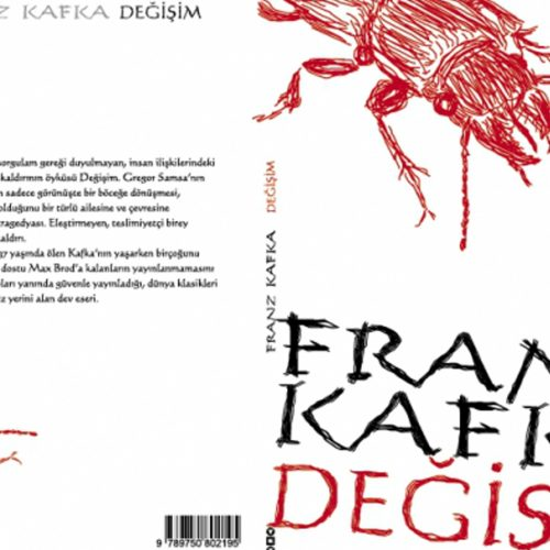 Franz Kafka Degisim Kitap Kapagi Basımı