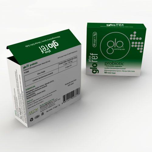 Gloref Plus Ürün Kutusu Basımı