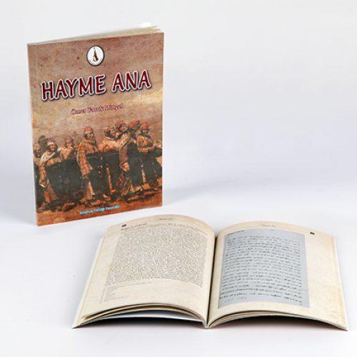 Hayme Ana Kitap Basımı