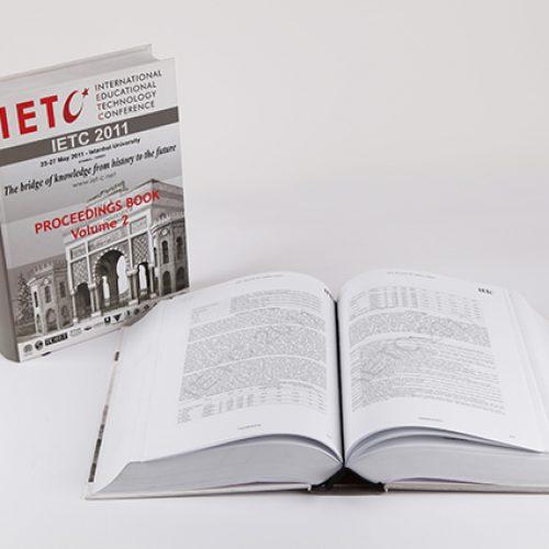 IETC International Educational Technology Conference Kitap Basımı