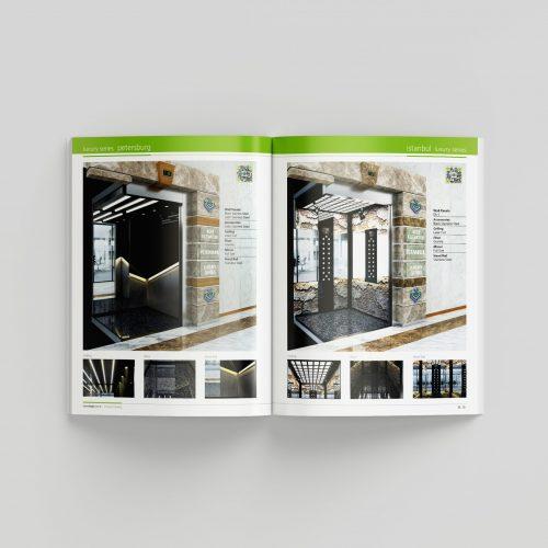 Kepi Asansor Katalog Basımı