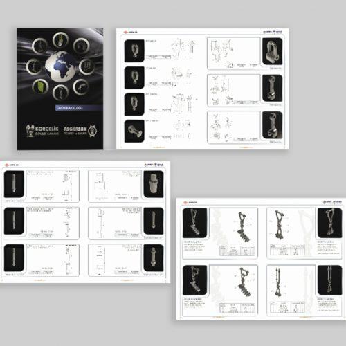 Korcelik wAsgewrsan Kosgeb Destekli Katalog Basımı