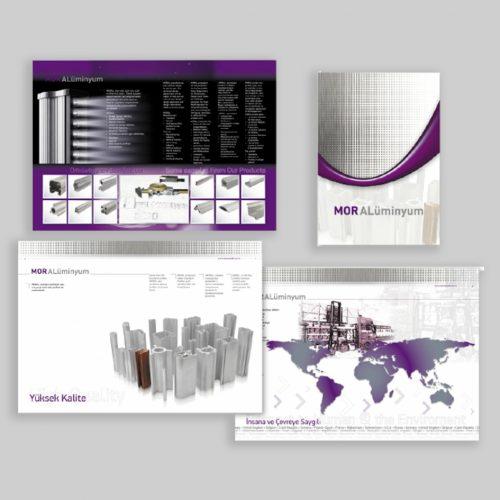 Mor Aluminyum Kosgeb Destekli Katalog Basımı