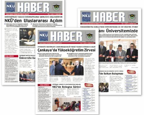 NKU Haber Gazete Basımı