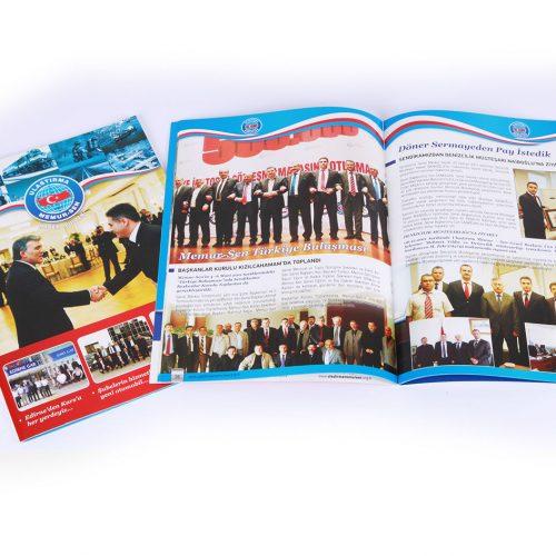 Ulastirma Memur-Sen Dergi Basımı