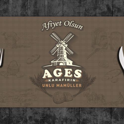 Ages Unlu Mamüller Servis Kağıdı Basımı