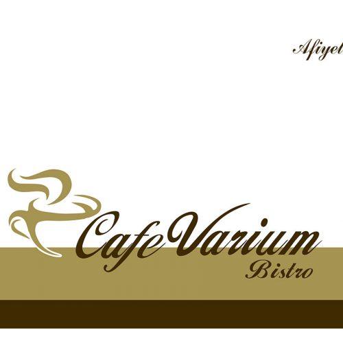 Cafe Varium Amerikan Servis Kağıdı Basımı