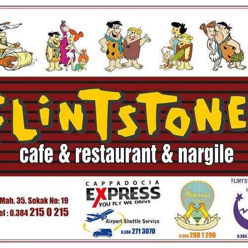 flinstones cafe restaurant amerikan servis kağıdı basımı